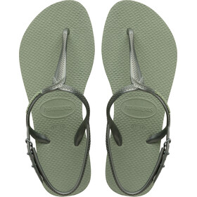 havaianas Twist Sandals Women mineral green